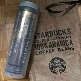 全新未使用 Starbucks 訓民正音 杯 膠杯 隨身杯 全新 韓國購入,全新未使用