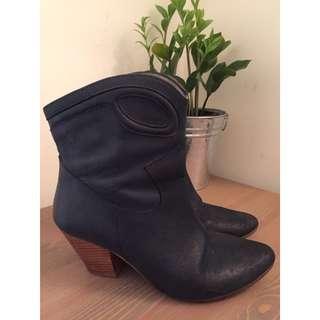 Leather Ankle Boots D.co Copenhagen
