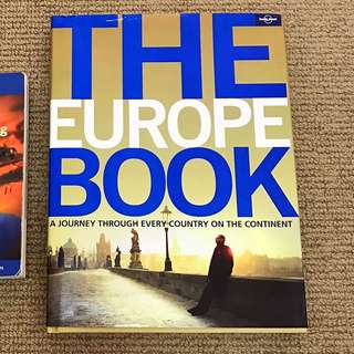 Europe Book - As New