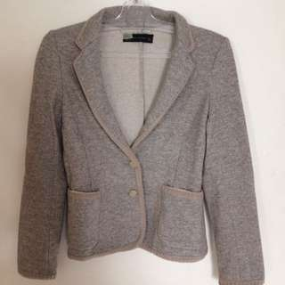 Zara Grey Misty Blazer