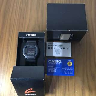 G Shock DW5600 MS (Second)