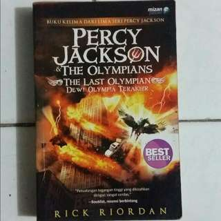 Percy Jackson And The Olympians: The Last Olympian