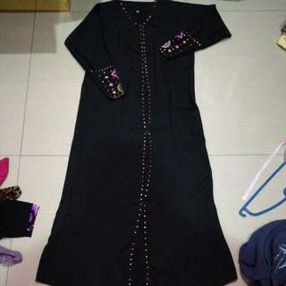 Black Abaya For Kids