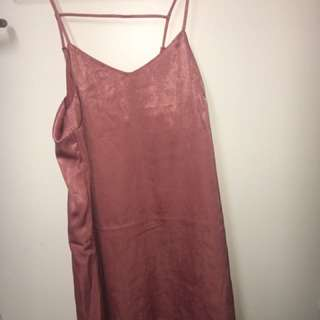 Dusty Pink H&M Dress