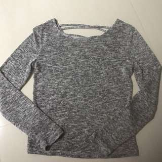 Grey TOP For Sales