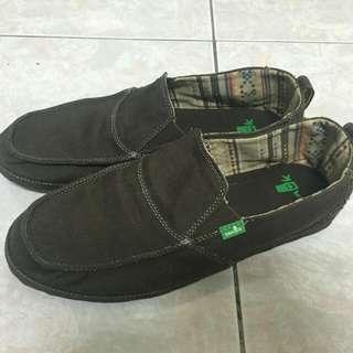 Sanuk  男鞋usa10號
