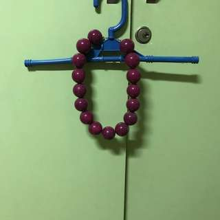 F21 Pink Bead Necklace