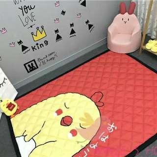 L噗34136068  水洗針刺棉加厚防滑地板墊寶寶爬行墊