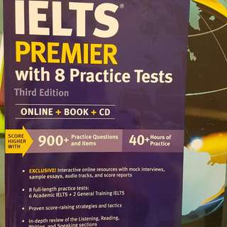 IELTS Book and Practice Tests