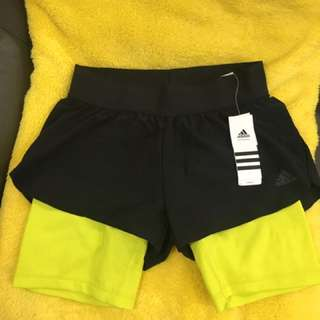 Adidas GYM 2 IN RSHORT Size Xs