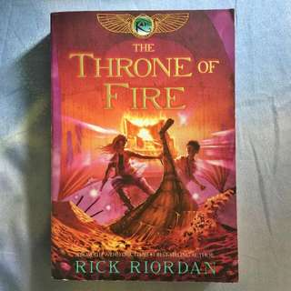 📚 The Throne Of Fire by Rick Riordan