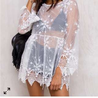 PRINCESS POLLY Sheer dress