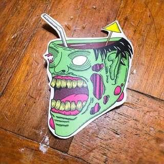 Zombie Squad Stickers