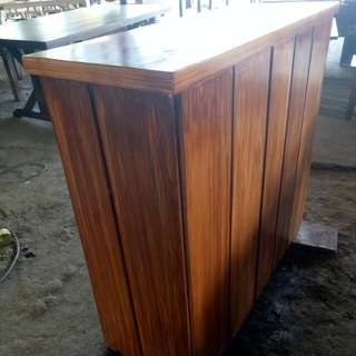 Wooden Counter bar