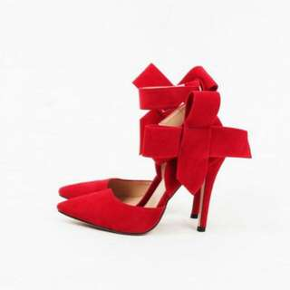 Bow Red Heels