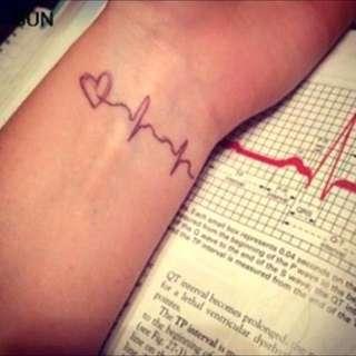 Heartbeat Tattoo