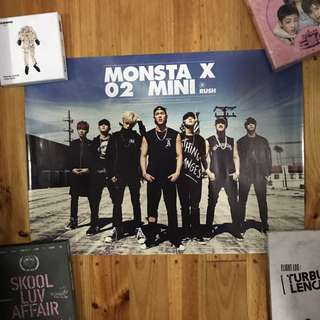 POSTERS! (Monsta X • BTS • SF9)