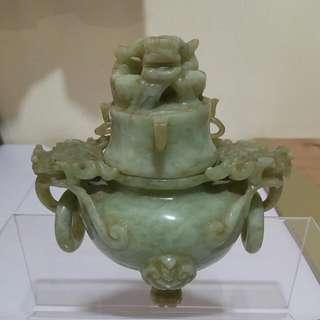 古玉香爐,高約11.5cm,寬約12cm