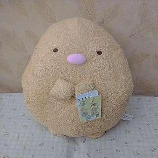 超可愛角落生物暖手枕約30cm(豬排款)