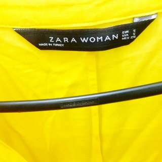 Zara Yellow Polo Shirt