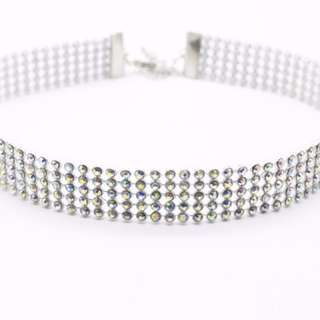 Thick Diamond Choker