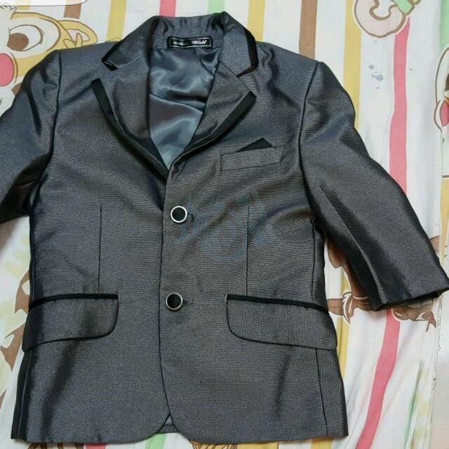 男花仔西裝禮服套裝2-3歲