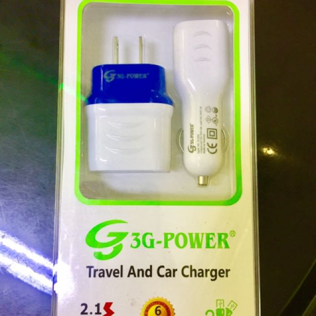 3-G Power Car Charger With Plug