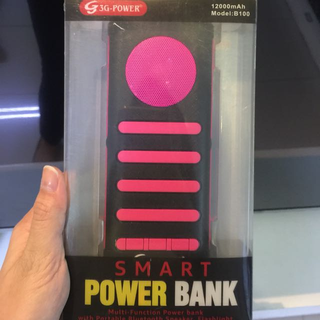 3-G Power Smart Power Bank