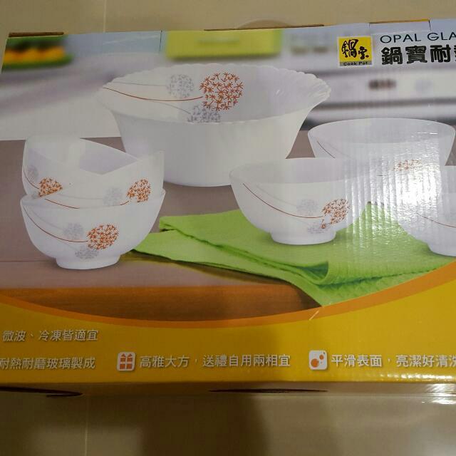 鍋寶耐熱7件組