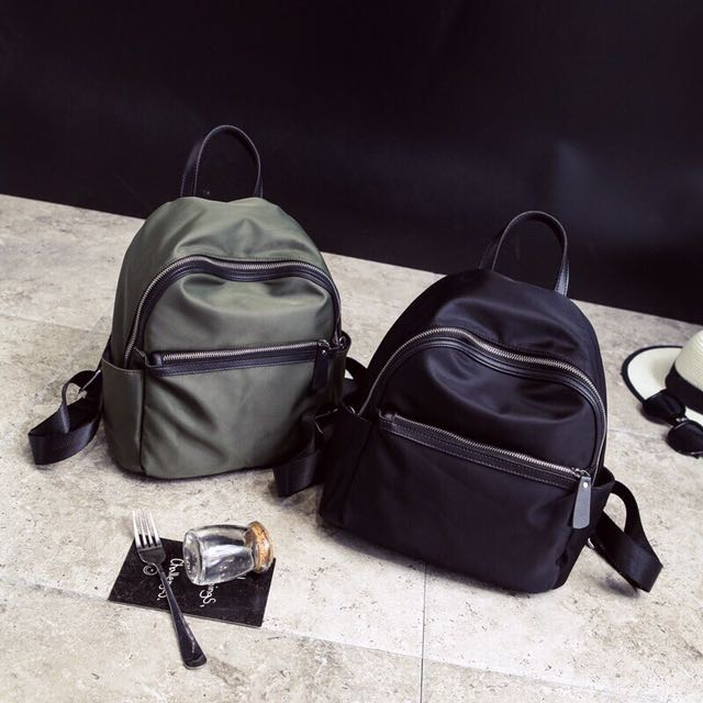 韓版尼龍後背包