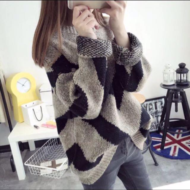 保暖針織毛衣