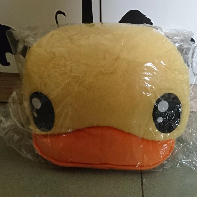 全新 黃色小鴨暖手枕