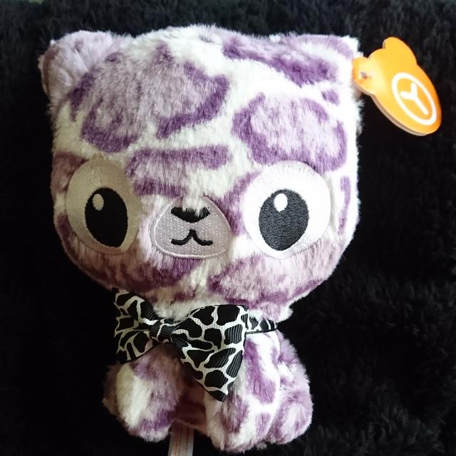 全新 豹紋斑點貓咪玩偶