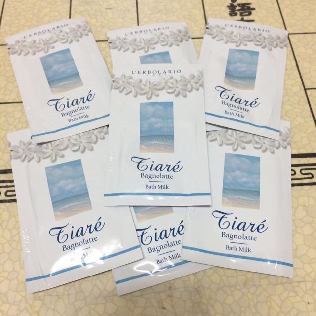 義大利 蕾莉歐 梔子花沐浴乳 Tiare' Bath Milk 試用品
