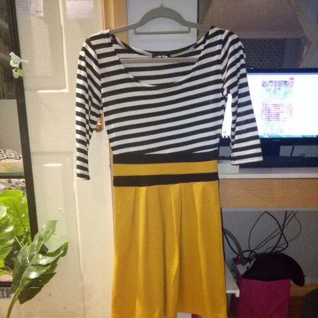 A Striped Dress