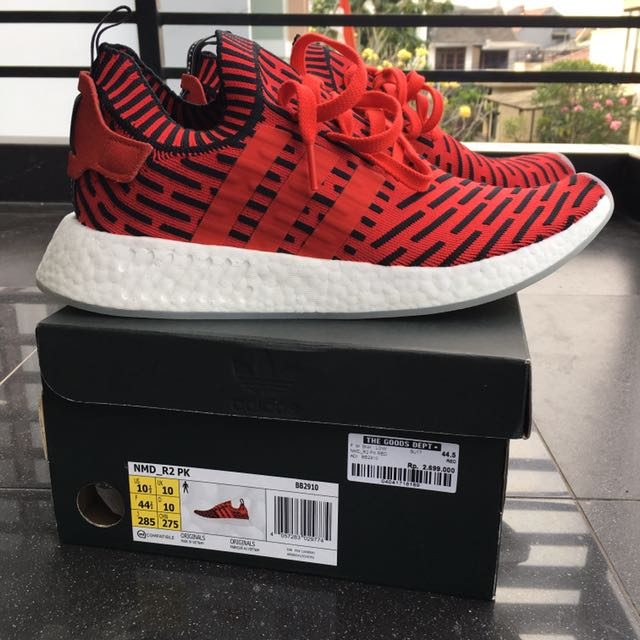 Adidas NMD R2 PK Red Core size 44.5