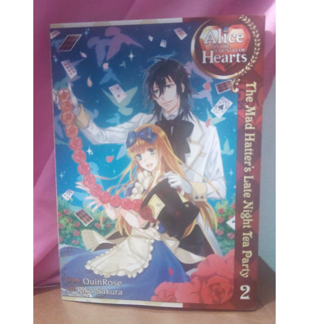 Alice in the Country of Hearts Late Night Tea Party Vol 2 Manga Book