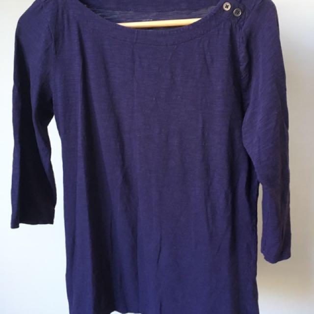 Ann Taylor Loft 3/4 Sleeve Top
