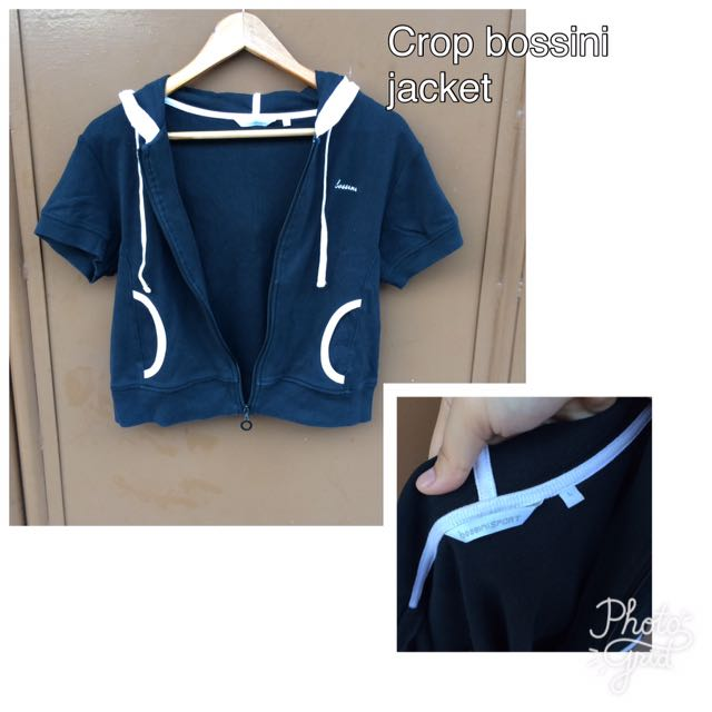Auth Bossini Croptop Jacket