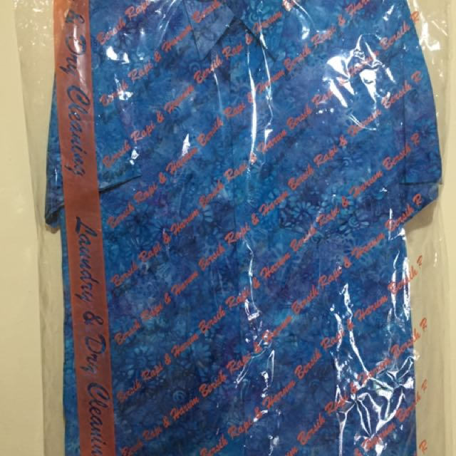 Batik Biru Clasic