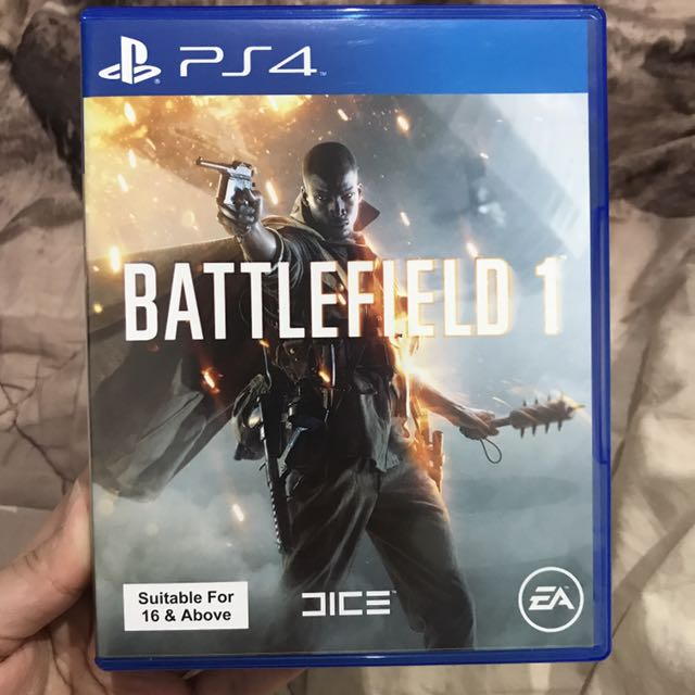 Battlefield 1 PS4. FREE ONGKIR JKT ONLY!