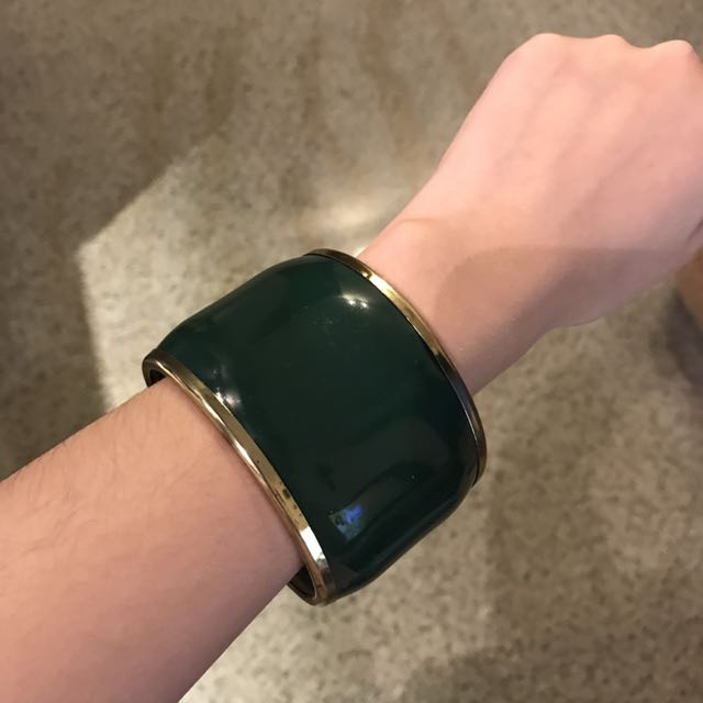 Big Green Retro Bracelete