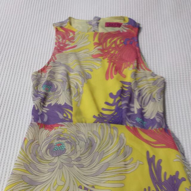 Boohoo High-Low Mid-length Dress