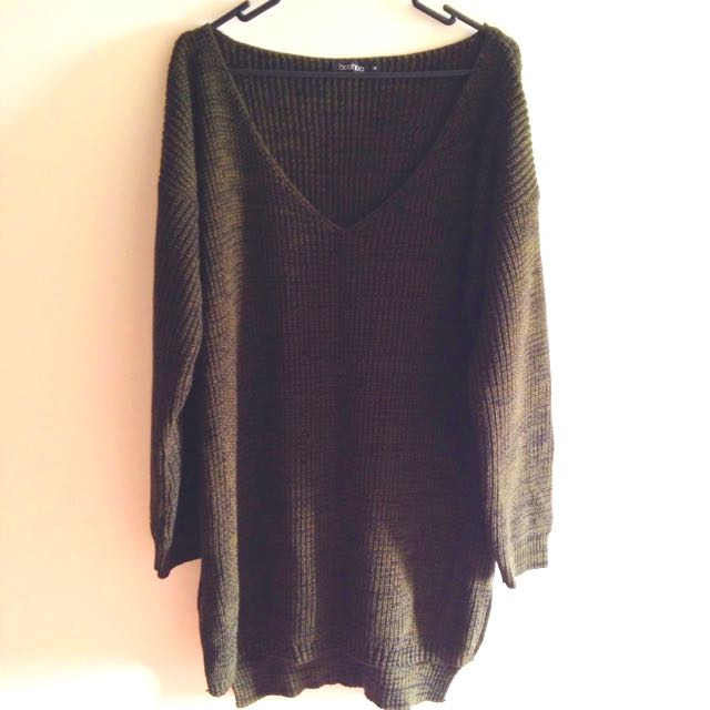 💵$5 Off! 💵 Long Chunky Knit Sweater Dress