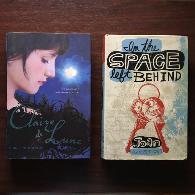 Book Bundle - Claire de Lune and In The Space Left Behind