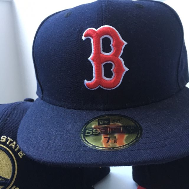 Boston Redsox Fitted Cap