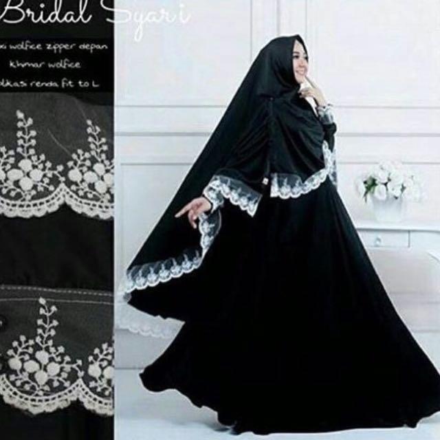 Bridal Syari Black