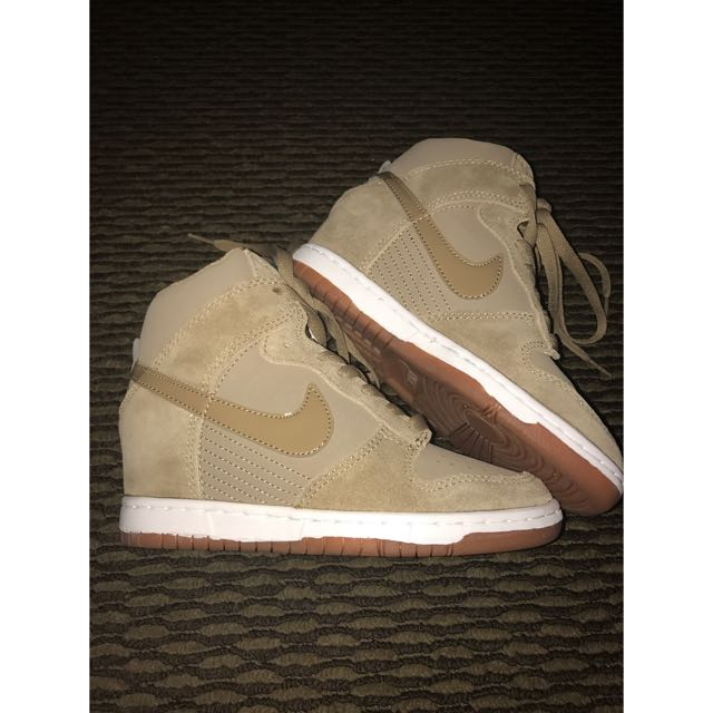 Brown Wedges Sneakers By NIKE ❤️