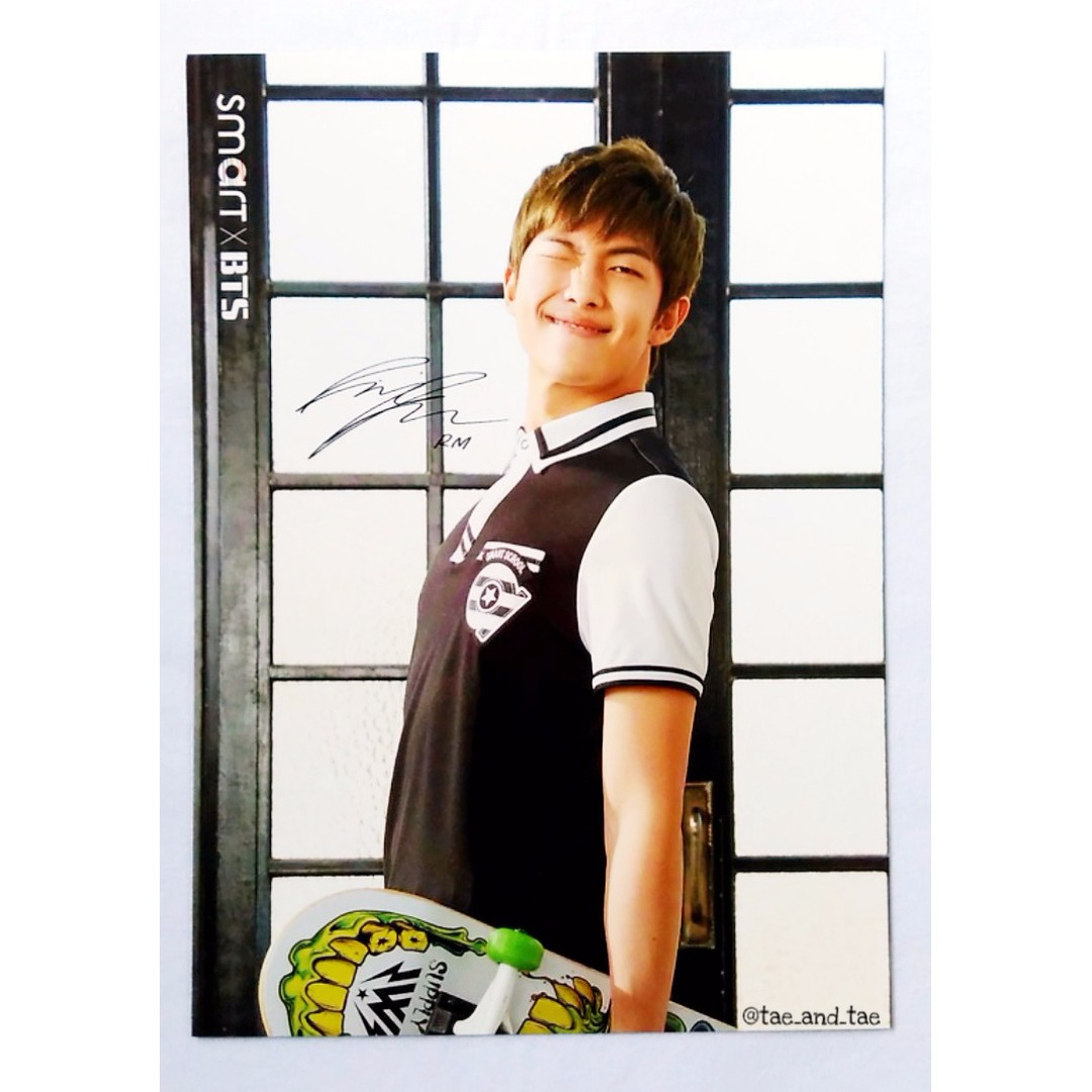 BTS Official Smart x BTS Postcards Ver. 2 - Rap Monster