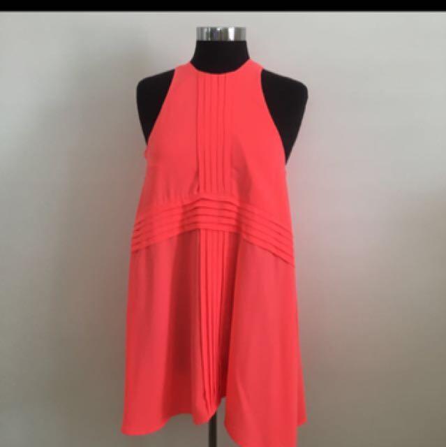 75bdcd81e55 Cameo Neon Tunic Dress Sz a/8, Women's Fashion, Clothes on Carousell